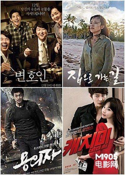 12月韩国四大期待影片 全度妍《回家的路》领衔