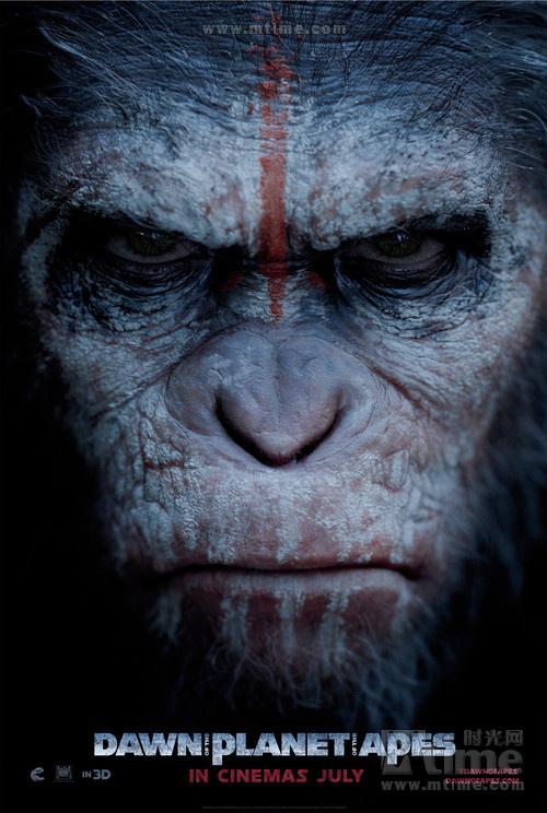 """""""猩球黎明""""预告前瞻 透露猿族首领凯撒绝对主"""