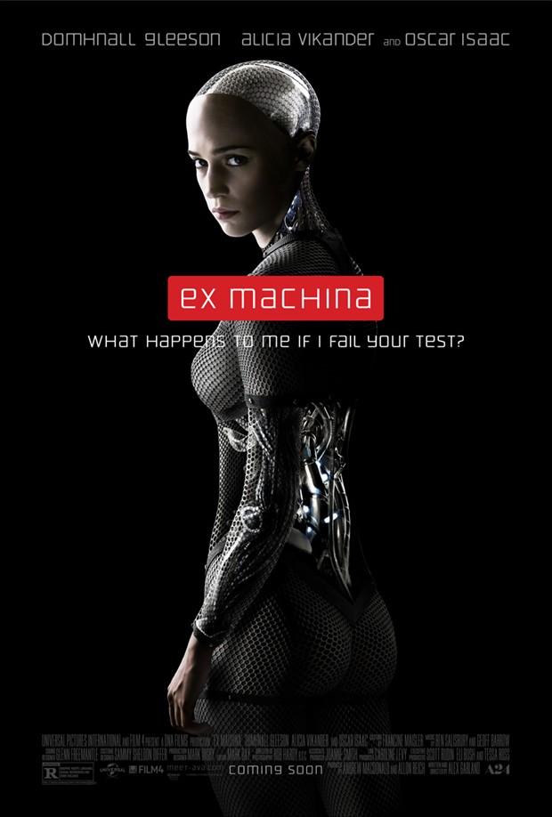 科幻电影《机械姬》曝最新海报 将于3月14日首映