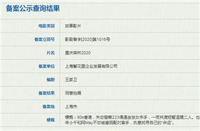 王家�l�典《重�c森林》�_定翻拍 或��(jiang)2025年上映
